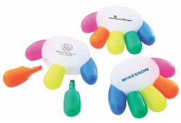 HAND SHAPED HIGHLIGHTER SET