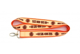 DOUBLE LAYER LANYARD 20/15 MM