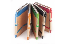 ECO 2 NOTEBOOK WITH PEN