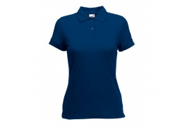 FRUIT OF THE LOOM LADIES FIT POLO SHIRT E